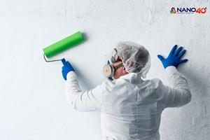 Đừng quên bảo vệ sức khỏe khi sử dụng sơn tường