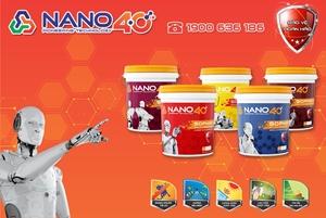 Giới thiệu Sơn Nano 4.0 - Công nghệ tiên phong