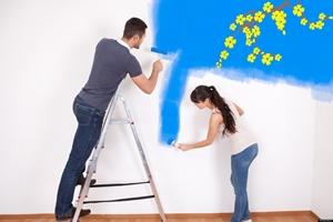 Mẹo sơn nhà đẹp đón Tết