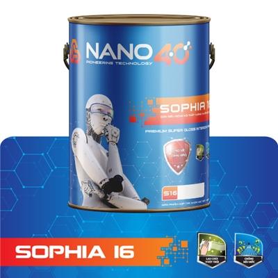 S16 -Sơn siêu bóng nội thất kháng khuẩn đặc biệt